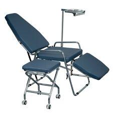 Portable Dental Folding Adjustable Chair Spittoon Basin Instrument Tray