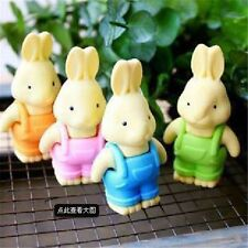Novelty Cartoon Cute Rabbit Erasers Office School Rubber Eraser Kids Gift HOT