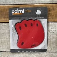 PALMI~Ventilated Palm Protector For Hands~1 Pair~New~Color Red~New~