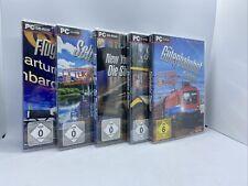 PC Simulator Paket **5 Spiele**  NEU Sammlung Konvolut Games