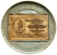 1893 IL EGLIT E-40B ADMISSION PASS NGC MS 61 WORLD COLUMBIAN EXPOSITION CHICAGO!