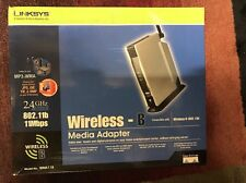 Linksys WMA11B Digital HD Media-Music Streamer Adapter (new)