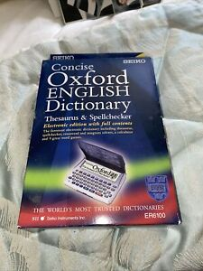 Oxford English Dictionary Thesaurus & Spellchecker