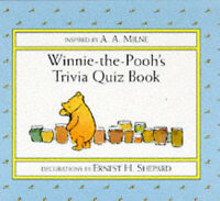 Winnie-the-Pooh's Trivia Quiz Book, Milne, A. A., Very Good Book