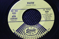 "PEE WEE KING & REDD STEWART ""Waitin"" & ""Goodbye New Orleans"" 45rpm Starday"