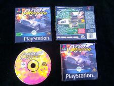 JEU Sony PlayStation PS1 PS2 : 007 RACING (James Bond COMPLET envoi suivi)