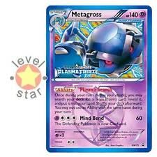METAGROSS Plasma Freeze BW75 Pokemon Prerelease Stamped PLAYER Promo Card