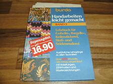 BURDA:  HANDARBEITEN LEICHT GEMACHT  # 3 - LEHRBUCH GOBELIN+BARGELLO+KELIM-STICK