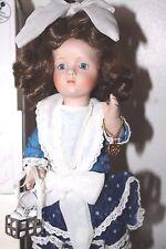 Marie Osmond Vintage Miracle Children Little Farm Girl Rebecca Porcelain Doll