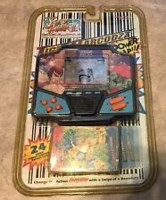 Vintage Tiger Street Fighter II New Challengers LCD Electronic Game BLACK sealed