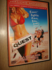 DVD THE QUEST CERCASI SESSO DISPERATAMENTE VERSIONE NOLEGGIO ITALIANO ENGLISH