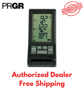 PRGR Black Personal Pocket Golf Launch Monitor Black (NEW 2020 - US Version)