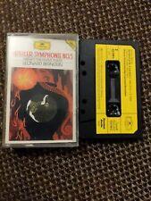 Mahler Symphony No 5 Leonard Bernstein. Cassette Tape. Weiner philharmoniker