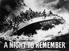 A Night to remember TITANIC FILM from Survivors memories.Classic British Film.