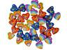 36 Mini Heart Shaped Erasers Rubbers Girls Kids Party Bag Filler Eraser Novelty