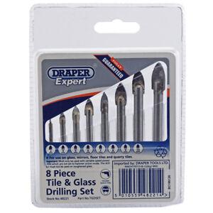 Draper Expert 48221 Ceramic Tile and glass drilling set (8 piece)