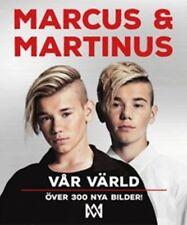 Buch Book Bildband Marcus & Martinus Vår Värld SCHWEDISCH Norwegen Norway