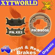 Front Rear Brake Pads Shoe Yamaha XV250 XV 250 S Virago