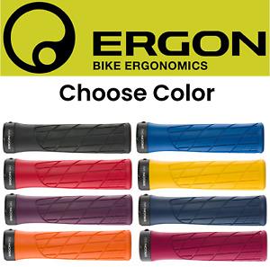 Ergon GA2 Gel Grips Lock On Mountain Bike Handlebar Choose Color