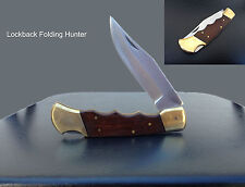 Hunting Fishing Outdoors Camp Hike Survival Pocket Knife blade camping steel