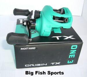 13 FISHING One 3 Origin TX Baitcast Reel RIGHT HAND Gear Ratio 7.3:1 #OTX7.3-RH