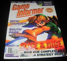 Vintage Game Informer Magazine Nintendo PS Playstation video games 1998 issue 68
