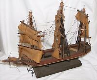 VINTAGE MODEL OF A CLIPPER SAILING SHIP FOR RESTORATION