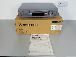Mitsubishi Time Lapse Security Video Cassette Recorder HS-1024E CCTV
