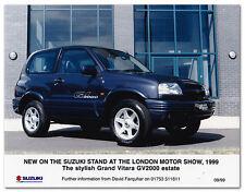 Suzuki Grand Vitara GV2000 estate Press Release Photograph 1999