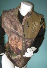 Browning Hell's Canyon Woman's Hunting Vest Mossy Oak Medium Scent Lock NEW