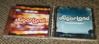 Sugarland Enjoy the Ride/Twice the Speed of Life Music CD lot of 2 country music