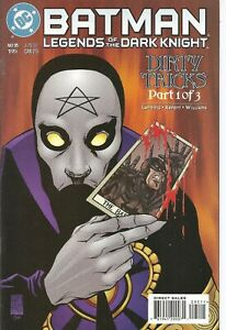°BATMAN LEGENDS OF THE DARK KNIGHT #95 DIRTY TRICKS 1 von 3° US DC 1997 English