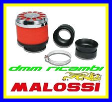 Filtro Aria MALOSSI E13 Ø 42-50-58,5 dritto per carburatori PHBH MIKUNI KEIHIN