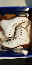Riedell Model Astr100 Ladies Ice Skates Size 5 1/2 .Pre-Owned.