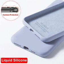 For Xiaomi Redmi Note 8 9 Pro 9s 8T 7A 8A Liquid Silicone Shockproof Case Cover