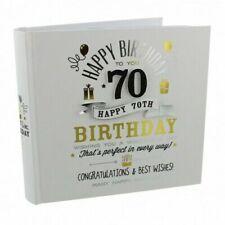 Signografía 70th Regalo Cumpleaños Álbum Fotos - Hombre`S Idea