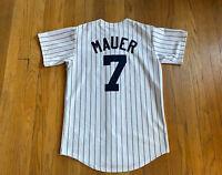 Minnesota Twins Vintage Joe Mauer Stitched Majestic Jersey Mens S Rare MLB