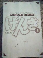 Genki An Integrated Course in Elementary Japanese Language volume1  Edition 1