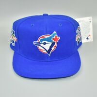 Toronto Blue Jays Vintage 1992 1993 MLB World Series Champions Snapback Cap Hat