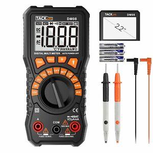 Multimeter, Tacklife DM08 Digital Multimeter, DC/AC Voltage Tester, DC/AC Curren