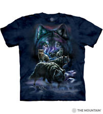 "The Mountain Adult Unisex T-Shirt ""Wolf Pack"" Gr. S - 5XL"