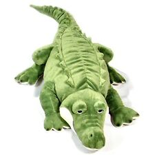 Large 83cm Crocodile Soft Cuddly Toy Animal - Suitable for all ages (0+)