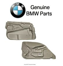 BMW E39 528i 540i M5 E60 525i Pair Set of Two Front Door Panels Insulations OES
