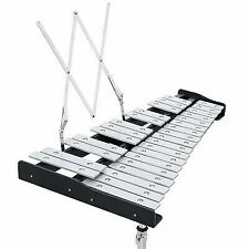 Percussion Glockenspiel Bell Kit 30 Notes W/ Practice Pad Mallets Sticks Stand