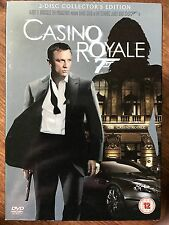 Daniel Craig como James Bond 007 CASINO ROYALE 2006 GB 2-Disc DVD con funda
