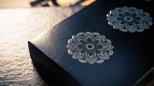 Mandalas Playing Cards - Cardistry Deck - Rare Custom Cards - Damien O'Brien