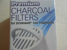 8 Charcoal Water Filters for PetSafe Drinkwell 360 Fountains