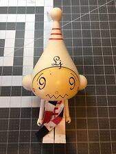 "KidRobot Dalek Ice-Bots Shiro 10"" White Vinyl Figure Used"