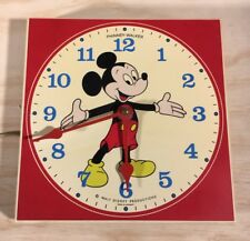 Phinney Walker Vintage Mickey Mouse Wall Clock Germany