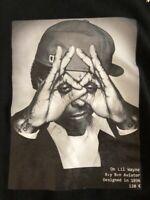 T Shirt Tee Hype Means Nothing Paris Lil Wayne Blanc White Hip Hop 2012 Edition